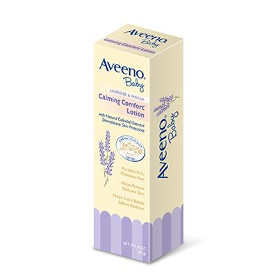 Aveeno艾惟諾 嬰兒薰衣草燕麥香氛舒緩保濕乳 (227ml)