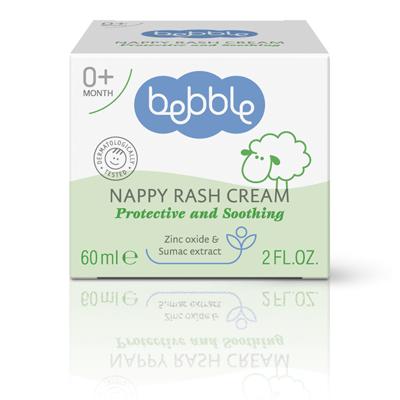 Bebble貝朵 黃櫨樹修護布疹霜 60ml
