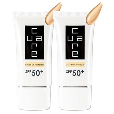 CureCare安炫曜 潤色防曬乳霜SPF50 雙件組