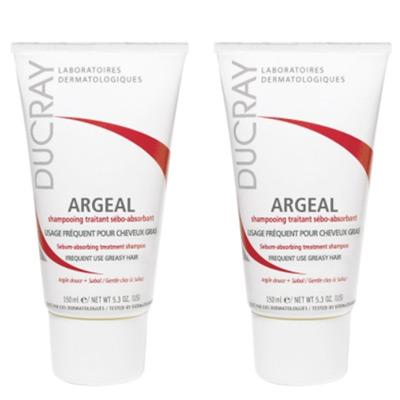 DUCRAY護蕾 鋸棕櫚控油洗髮霜 150ml 1+1組 (短效出清,末效期至2019/04)(無外膜)