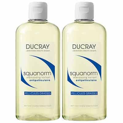 DUCRAY護蕾 K油清屑洗髮精200ml 二入組