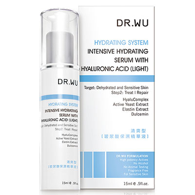 DR.WU达尔肤 玻尿酸保湿精华液 15ml