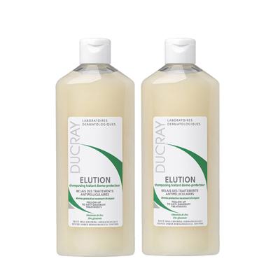 DUCRAY護蕾 控油舒敏洗髮精基礎型200ml二入組