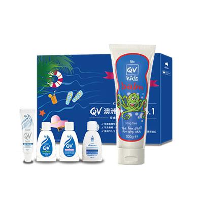 Ego意高 QV兒童專用重度修護乳膏(送QV隨身舒敏潔護組 束口袋 EGO直式紙袋(小))