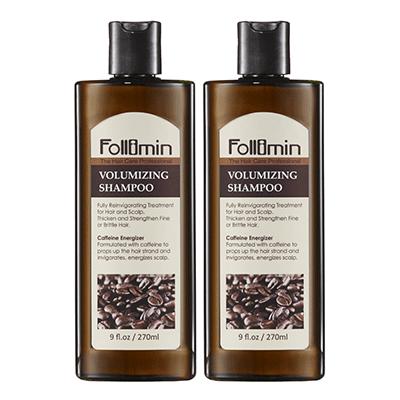 Follimin髮利明 咖啡因豐盈洗髮精二入優惠組