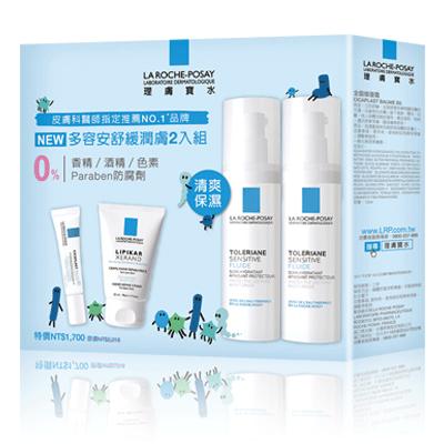 理膚寶水 多容安舒緩潤膚2入組