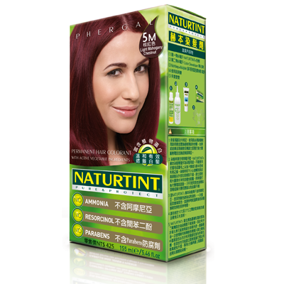 NATURTINT 赫本染髮劑-5M淺赤褐棕色