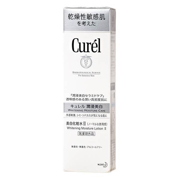 Curel珂潤 潤浸美白保濕化粧水II(輕潤型)