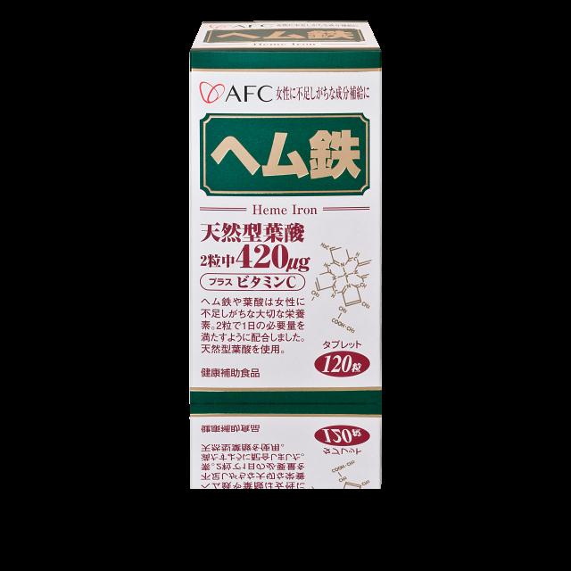 AFC宇勝淺山 菁鑽鐵S錠狀食品