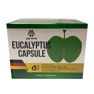 Eucalyptus Capsule 桉葉精軟膠囊 80粒