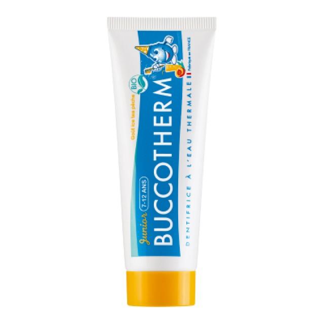 Buccotherm健口泉 7-12歲兒童潔淨牙膏(水蜜桃冰茶口味)