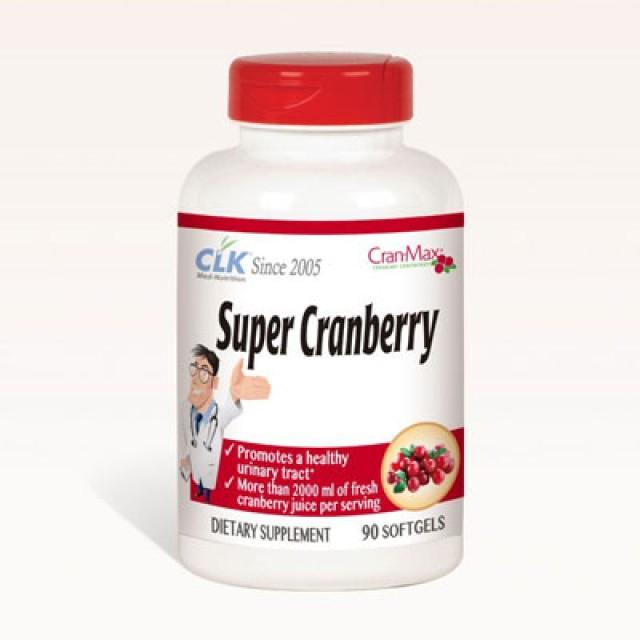 CLK健生生技 舒密蔓越莓(含維生素C,E)膠囊