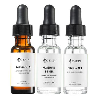 C-Skin杜克 C15%色修淡斑組15ml