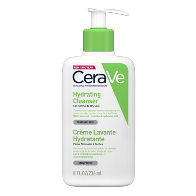 CeraVe適樂膚 輕柔保濕潔膚露 236ml (短效出清,末效期至2020/11)