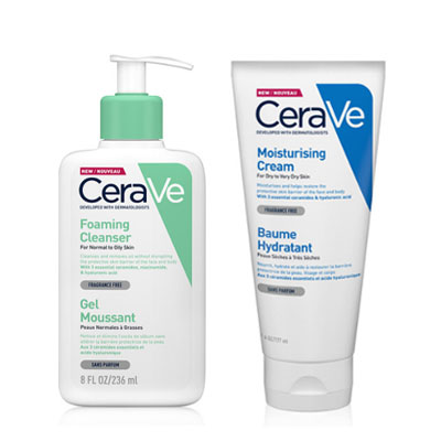 CeraVe適樂膚 潤澤泡沫洗護組