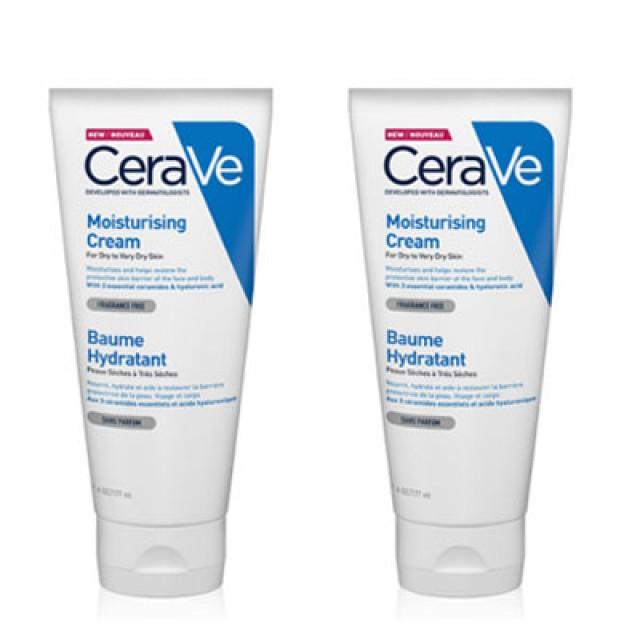CeraVe絲若膚 長效潤澤修護霜雙入組