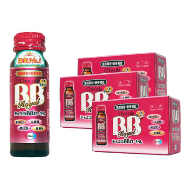 俏正美BB Chocola BB royal 蜂王飲(10瓶) 三盒組