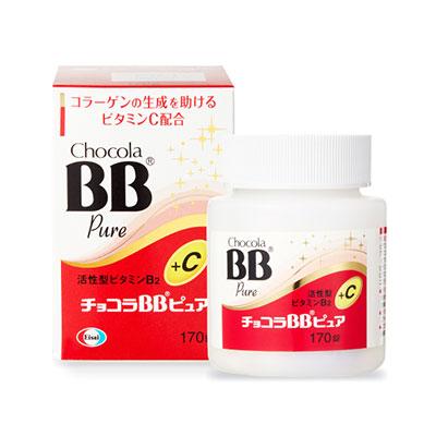 俏正美Chocola BB Pure 糖衣錠 B+C 170錠