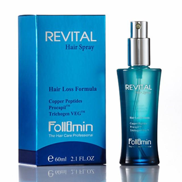 Follimin髮利明 藍銅髮根滋養噴劑