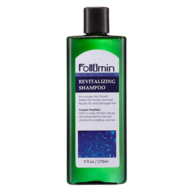 Follimin髮利明 藍銅溫和滋養洗髮精 (短效出清;末效期至2019/09/08)