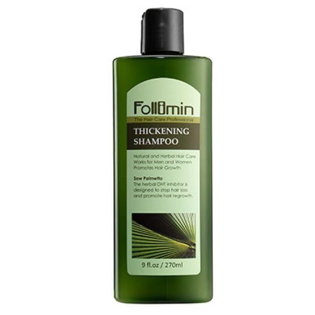 Follimin髮利明 鋸棕櫚健髮控油洗髮精 (短效出清;末效期至2019/09/08)