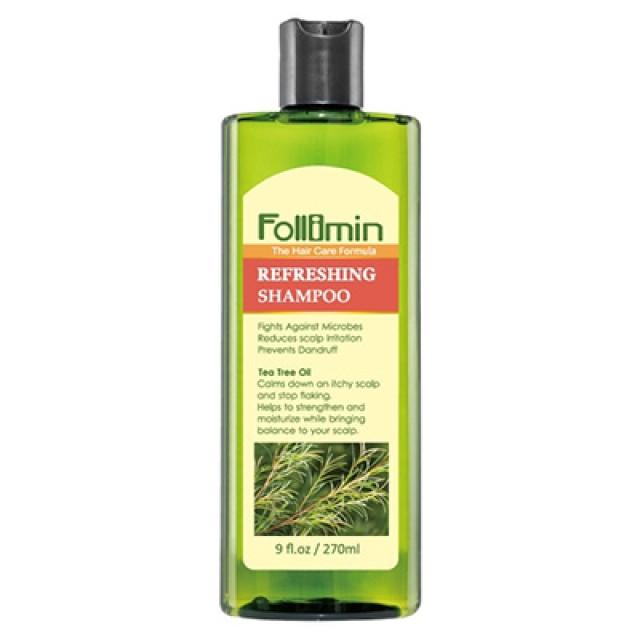 Follimin髮利明 茶樹加強抗菌洗髮精