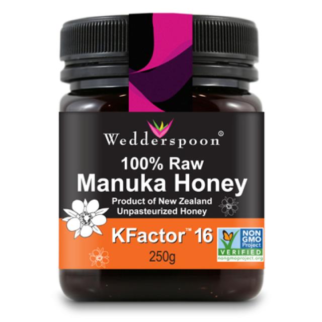 佑爾康金貝親 嚴選麥蘆卡蜂蜜 KFactor™ 16 250g