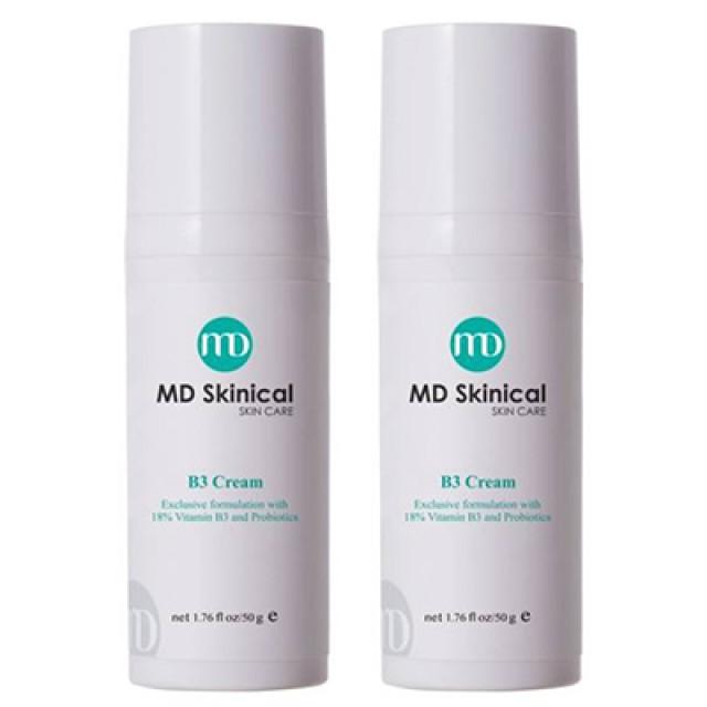 MD Skinical淨妮透 18% B3呼吸霜  第二件半價組