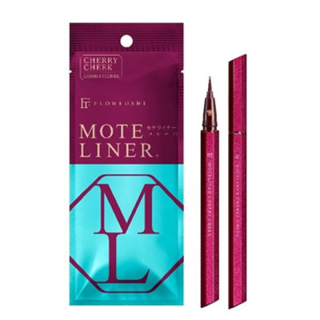 MOTE LINER大和匠筆眼線液-櫻桃紅