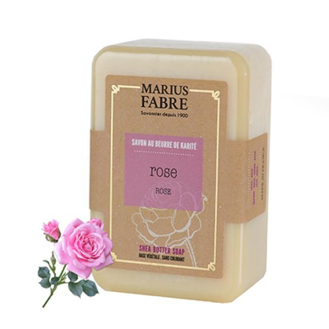 Marius Fabre 法鉑天然草本法蘭西玫瑰乳油木皂 250g **缺貨