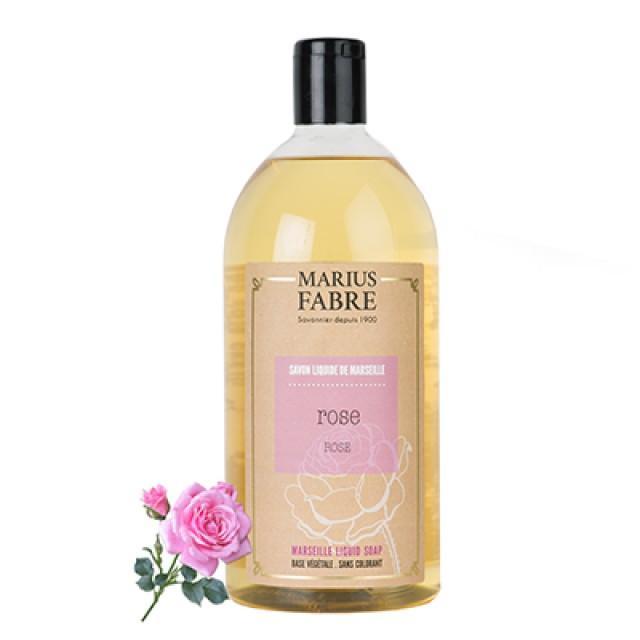 Marius Fabre 法鉑天然草本法蘭西玫瑰液體皂 1000ml