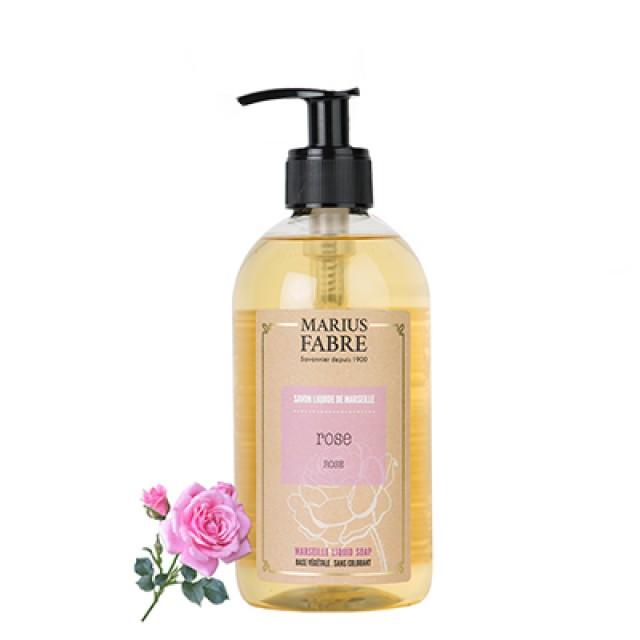 Marius Fabre 法鉑天然草本法蘭西玫瑰液體皂 400ml