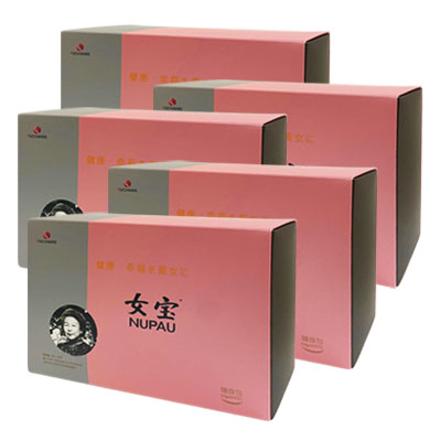 莊淑旂博士 女寶5盒組
