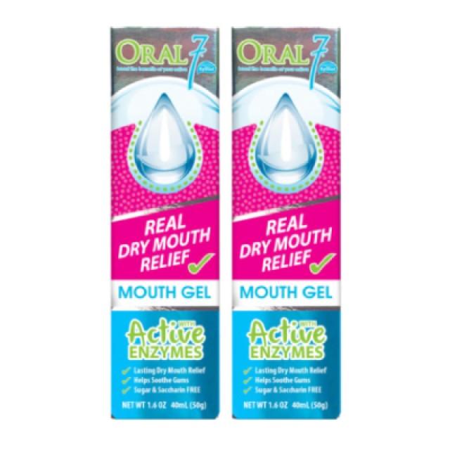 Oral7口立淨 酵素護理口腔凝膠 2入組