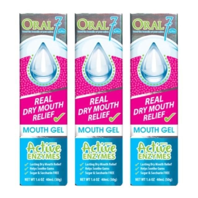 Oral7口立淨 酵素護理口腔凝膠 3入組