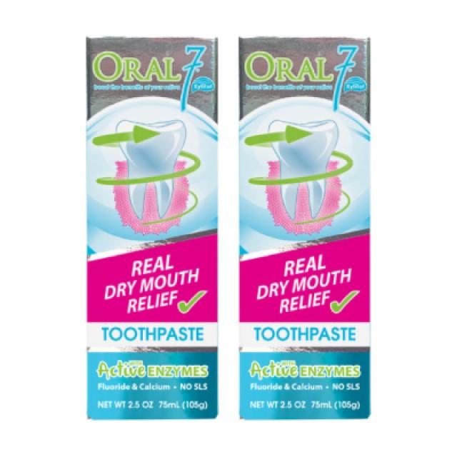 Oral7口立淨 酵素護理牙膏 2入組