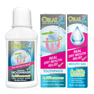 Oral7口立淨 酵素護理全方位組