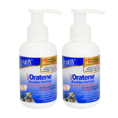 Oratene 三酵合一飲水潔牙劑 2入組