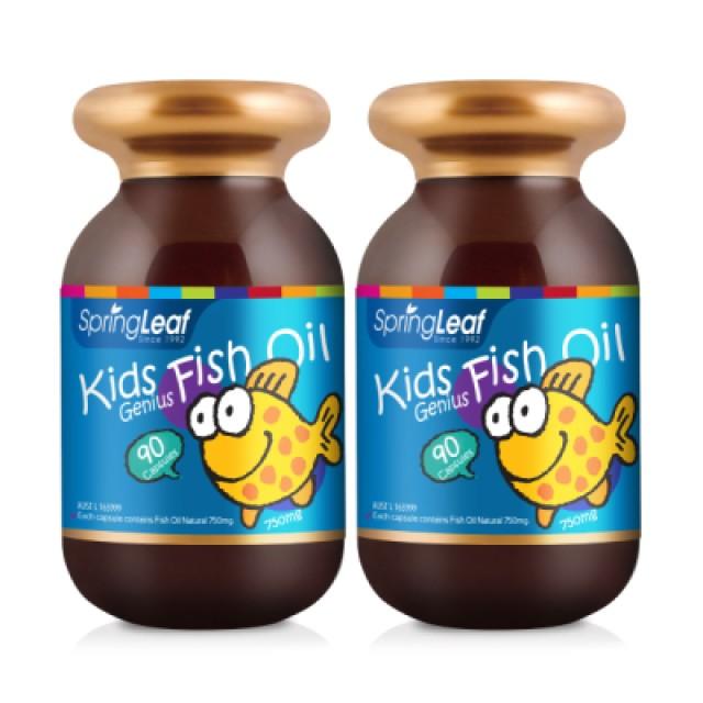 綠芙特級 兒童魚油軟膠囊 2入組