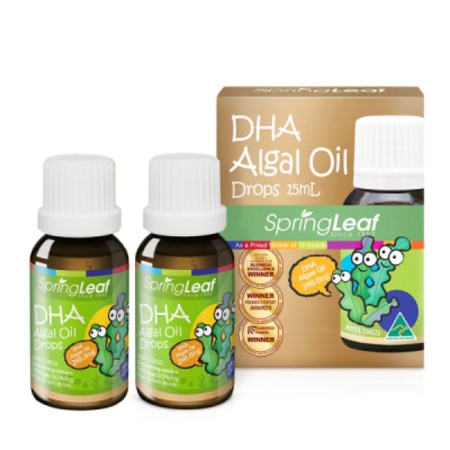 綠芙特級 金寶貝DHA藻油 2入組