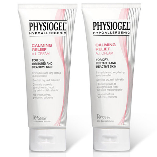 Physiogel潔美淨 層脂質舒敏AI乳霜 2入特惠組 (原: 層脂質AI滋潤霜)