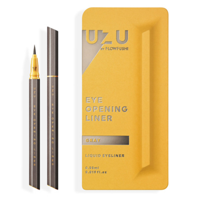 UZU渦 大和匠筆眼線液-鉛墨灰