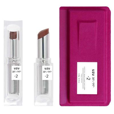 UZU渦 38°C 唇膏|-2栗棕|3.8g
