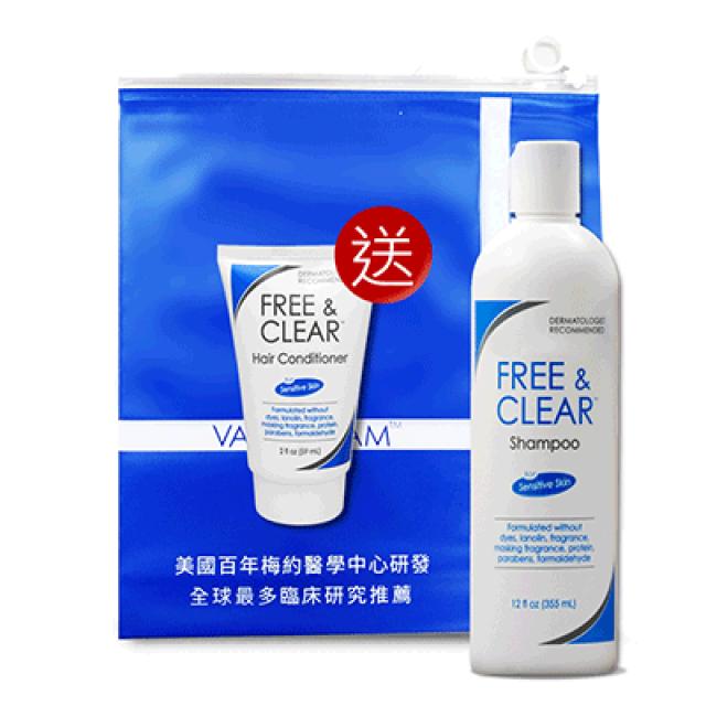 Vanicream薇霓肌本 無蛋白質胺敏洗髮精(贈 護髮乳旅行瓶59ml*1)