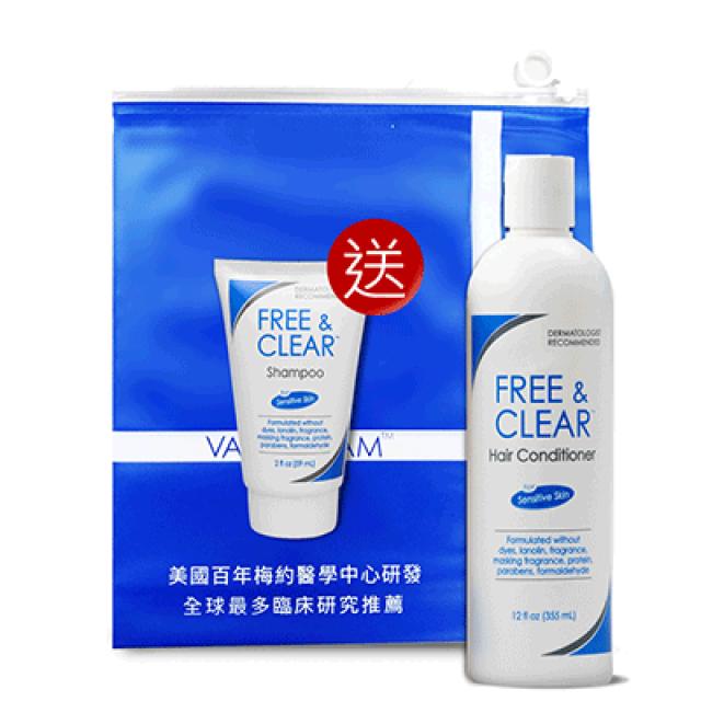 Vanicream薇霓肌本 B5極致豐盈護髮乳(贈 洗髮精旅行瓶59ml*1)