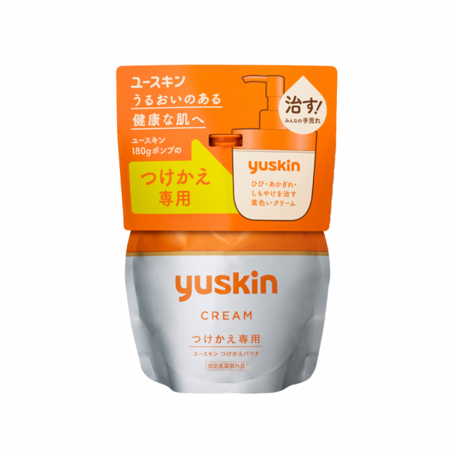 Yuskin悠斯晶  乳霜 180克 補充包