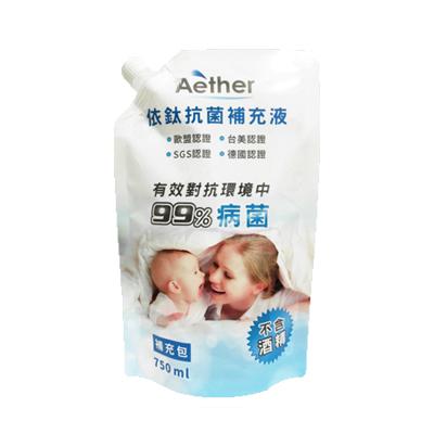 Aether依鈦抗菌專家 居家防護噴霧劑 補充包750ml