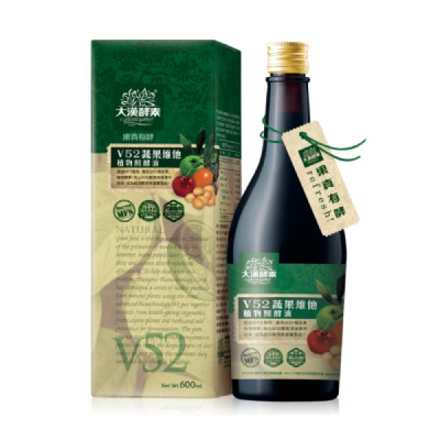 大漢酵素 V52蔬果維他植物醱酵液600ml