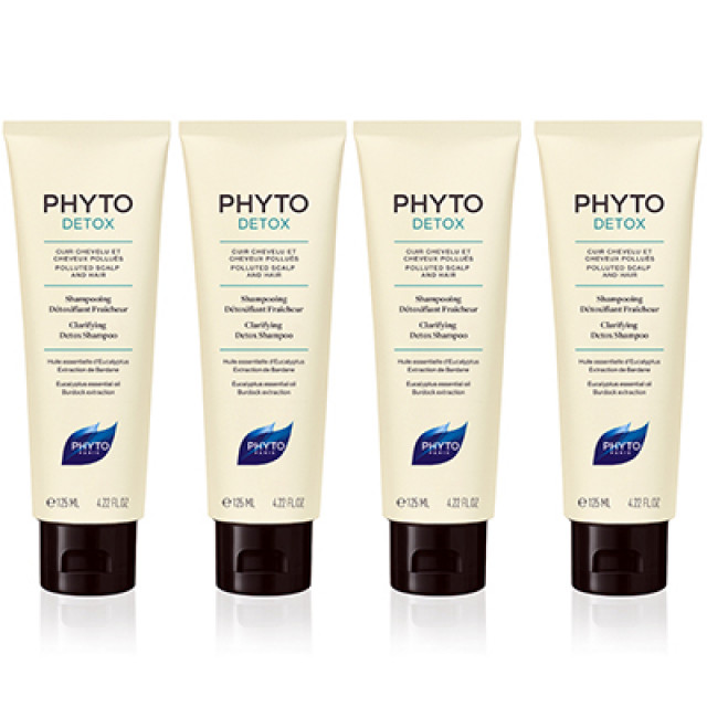 PHYTO髮朵 頭皮淨化能量洗髮精 買3送1特惠組