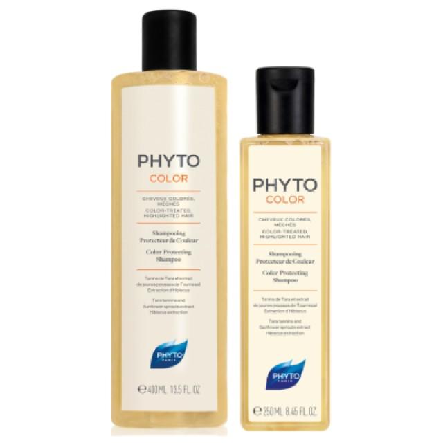 PHYTO髮朵 護色能量洗髮精 買大送小